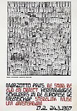 Poster by Pièrre F. Arman - Skyscraper Marzotto prijs De Stad: Beeld en Object, Stedelijk Museum Amsterdam