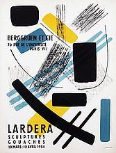 Poster by Berto Lardera - Berggruen et cie Lardera