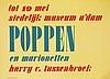 Poster by Willem Sandberg - Poppen en marionetten