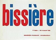Poster by Willem Sandberg - bissière