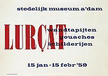 Poster by Willem Sandberg - Lurcat wandtapijten