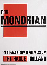 Posters (3) by Paul Schuitema - For Mondrian The Haags Gemeentemuseum