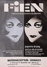 Poster by Ad Werner - Fien Musical