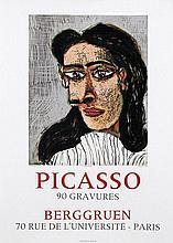 Poster by Pablo Picasso - Berggruen Picasso 90 Gravures