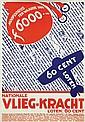 Poster by Job Denijs - Nat. Vlieg-Kracht