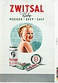 Poster by  Monogram VW - Zwitsal Baby-poeder-zeep-zalf