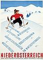 Poster by Hermann Kosel - Niederösterreich