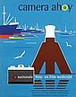 Poster by W.A. de Wijn - camera ahoy amsterdam