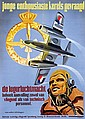Poster by R. Vunderink - jonge enthousiaste kerels gevraagd, de legerluchtmacht