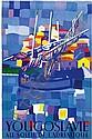 Posters: Murtic Edo (1921-2004) Yougoslavie 66x99,