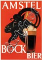 Poster by Jan Wijga - Amstel Bock Bier