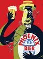 Posters (2) by  Ricard, (ps. Herbert Meijer 1908-1988) - Phoenix Bier