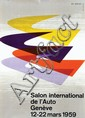 Poster by Edi Hauri - Salon int. de l'Auto Genève