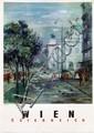 Poster by  Illegible signature - Wien Österreich Staatsoper