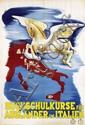 Poster by  Anonymous - Hochschulkurse für Ausländer in Italien