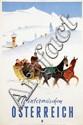 Poster by Hermann Kosel - Wintermärchen Österreich