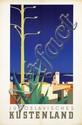 Poster by Hans Wagula - Jugoslavisches Küstenland