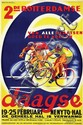 Poster by Kees van der Laan - 2de Rotterdamse 6 daagse Nenyto-Hal Rotterdam
