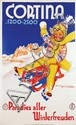 Poster by Franz Lenhart - Cortina Paradies aller Winterfreuden
