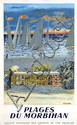 Poster by Maurice Brianchon - Plages du Morbihan