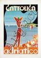 Poster by Achille Dal Lago - Cattolica adriatico