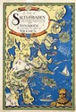Poster by Ernst Akerbladh - A map of Saltsjöbaden Stockholm Sweden