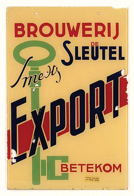Poster by  Anonymous - Brouwerij de Sleutel Betekom