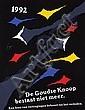 Posters (2) by Gielijn Escher - De Goudse Knoop bestaat niet meer.