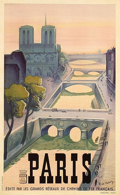 Poster by Roger de Valerio - Paris