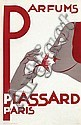 Poster by Jan Kotting - Parfums Plassard Paris