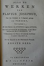 HIS - FLAVIUS JOSEPHUS.
