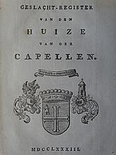 HIS - (CAPELLEN TOT DEN POL, J.D. VAN DER)