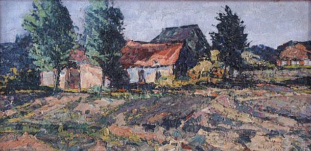BRAKEN, P. (Peter) VAN DEN (1896-1979) Landschap