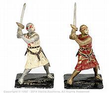 PAIR inc Richard Courtenay - Foot Knights
