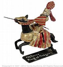 Richard Courtenay - Mounted
