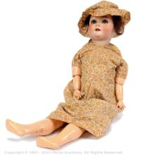 Schoenau & Hoffmeister bisque doll, German