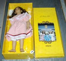 Annette Himstedt Lona doll, missing certificate