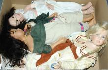 GRP inc Modern artist's dolls: (1) Philip Heath
