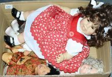 Modern artist's dolls: (1)