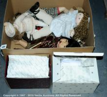 GRP inc Modern artists dolls: (1) Zapf