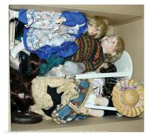 GRP inc Modern bisque collectors' dolls