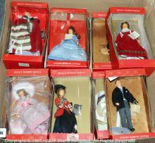 GRP inc Peggy Nisbet hard plastic Dolls, boxed