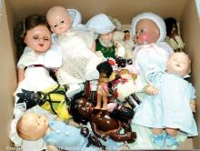 GRP inc Composition and hard plastic dolls