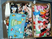 QTY inc Dolls boxed Chinese hard plastic- set