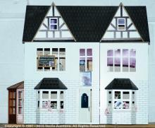 Modern doll's house The Bull Public House, opens