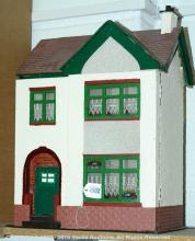 British 1930s doll's house, wooden