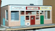 Parade of 1960s shops, with contents; 9.5