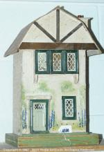 Triang doll's house, Dutch style roof, tinplate