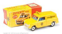 Dinky No.274 AA Mini Van - deep yellow body