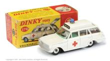 Dinky No.278 Vauxhall Ambulance - satin white